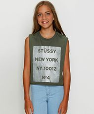 stussy shirts for kids