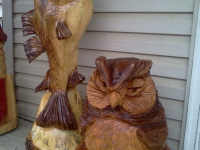 Chainsaw carving ideas on Pinterest  Chainsaw Carvings Chainsaw and Northern California