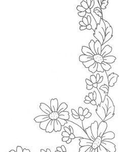 Easy Flower Border Designs To Draw Valoblogi Com