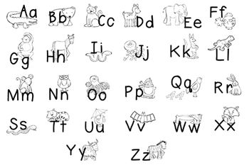 ABC's zoo phonic animals by Callie Baker on Pinterest