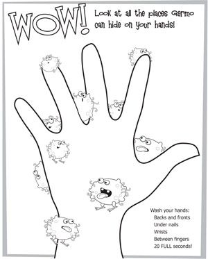 All Worksheets » Germs Worksheets For Kindergarten