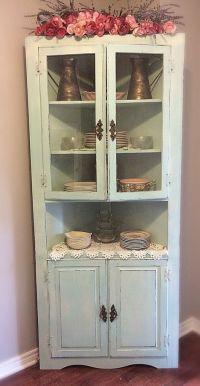 1000+ ideas about Hutch Cabinet on Pinterest   Corner ...