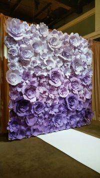 1000+ ideas about Paper Flower Backdrop on Pinterest ...