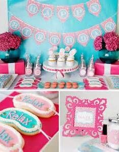 Little girls spa birthday party ideas bing images also best about girl bday on pinterest paper garlands rh