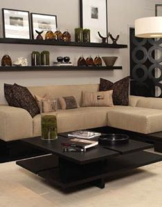 Kelly hoppen interior design  really love the shelves on wall hmmm ideas for living roomliving also best images about my dream home pinterest fabric sofa rh