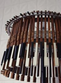 what to do with old piano keys by mishnt on Pinterest ...