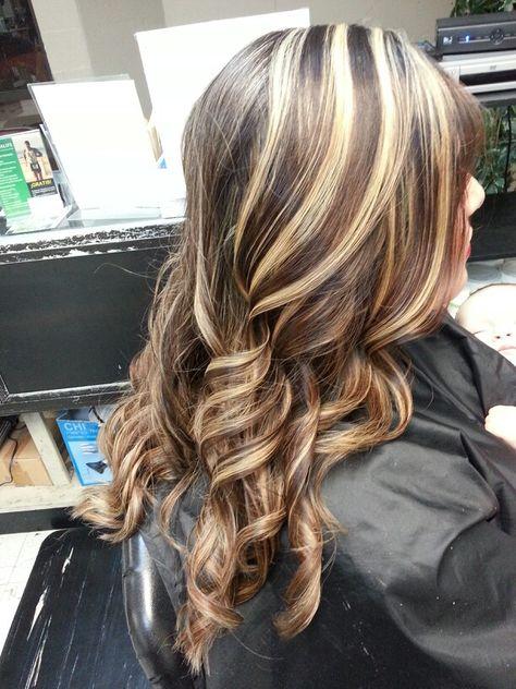Hair April 2014 On Pinterest Chunky Highlights