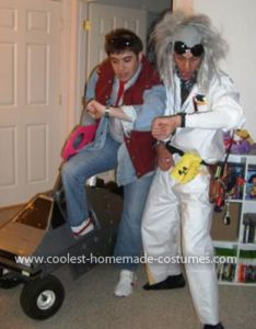 Homemade back to the future couple costume also coolest and rh pinterest