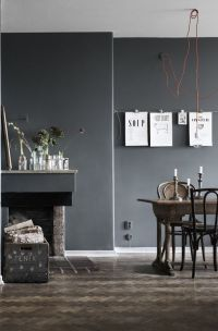 1000+ ideas about Dark Grey Walls on Pinterest | Grey ...