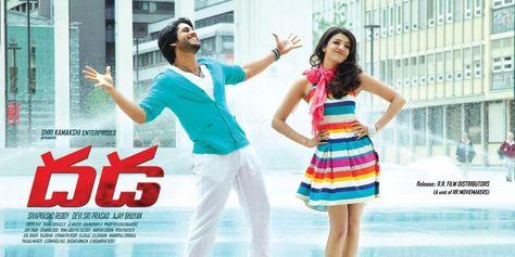 hindi dubbed movies of naga chaitanya - dhada poster