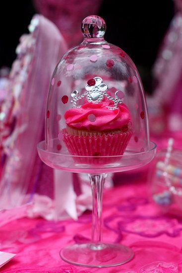 Cupcakes For a Princess: Mini tiaras from a local party store adorned the prince