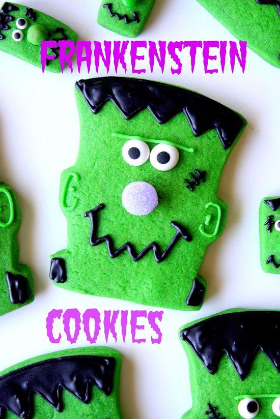 Munchkin Munchies: Frankentstein Cookies {Quick & Easy)