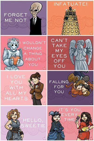 Doctor Who Valentines