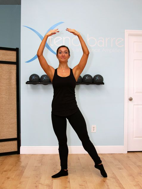 Barre Workout for a Better Butt, Hips and Thighs via @iVillage