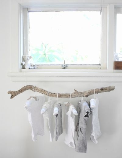 A Baby Branch Clothing Rack