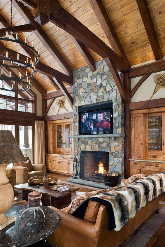 The perfect cozy mountain home