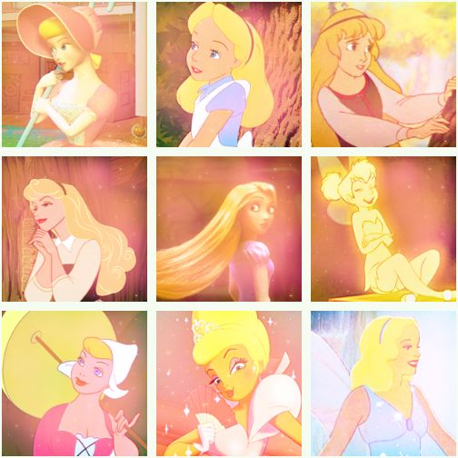 disney blonds – I'm pinning this only because they included Eilonwy, who is