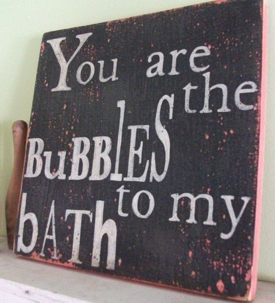 This would be SO cute in my bathroom!