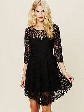 Just picked up this Free People Floral Mesh Lace Dress tonight. Can't wait t
