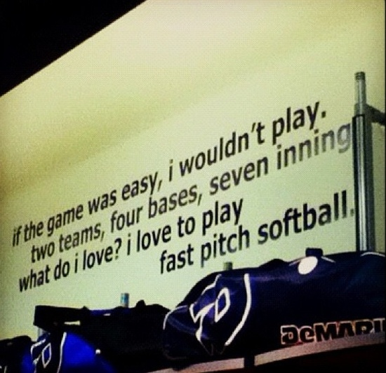 inspirational softball quotes – Google Search