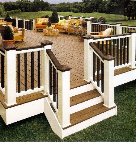 great deck, love the colors