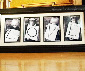 Neat idea for our next family photo shoot :)  Super easy!  just take a piece of