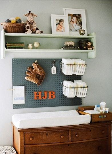 {Baby Room Pegboard}