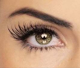 Wash an old mascara or nail polish container and fill with: 1/4 of the container