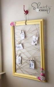 Three Super Easy Crafts to Decorate Your Dorm Room | Things Every College Girl S
