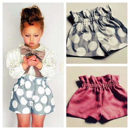 Adorable shorts & easy to make!