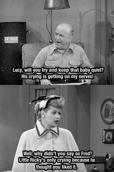 I Love Lucy. Classic.