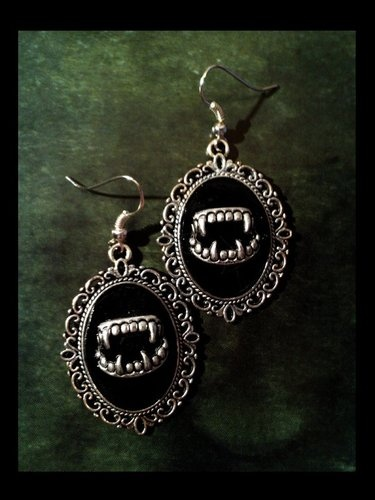 Gothic earrings 'Dracula'