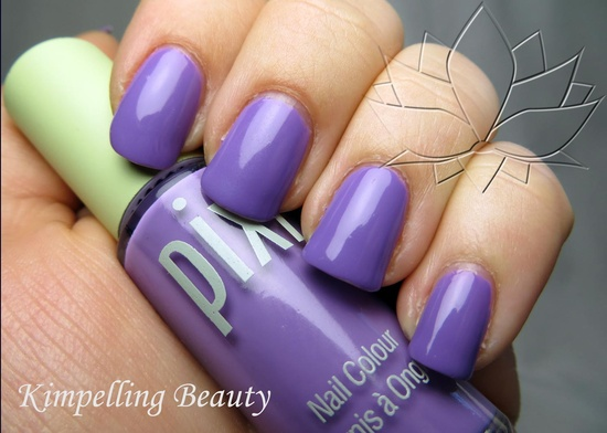 Kimpelling Beauty: Pixi Wakeup Wisteria nail polish