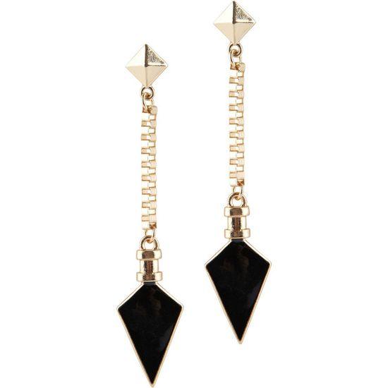 ALDO Kristin earrings ($10) ❤ liked on Polyvore