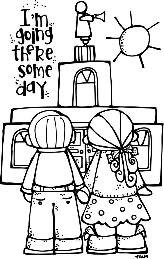 LDS, Temples and Lds coloring pages on Pinterest
