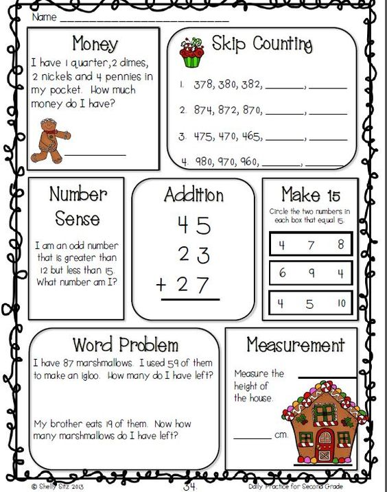 Common Core Math and Language Arts Daily Practice for