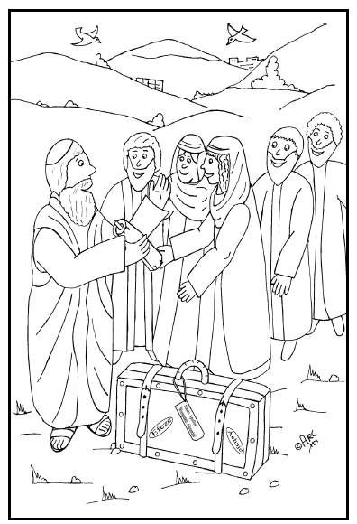 Antioch Agabus Coloring Page Coloring Pages