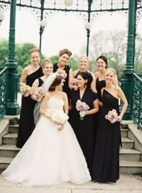 A Chic and Modern Wedding : Black and Gold Wedding Inspiration
