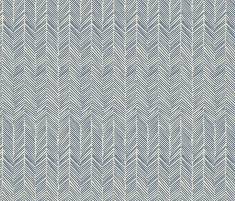 freeform arrows in navy fabric by domesticate on Spoonflower - custom fabric: