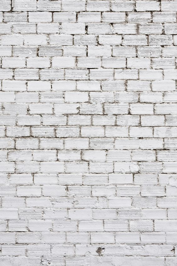 Colour Inspiration: white brick inspired by colour of