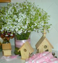 Babies breath centerpiece, Babies breath and Centerpieces