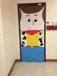 Woody classroom door decor Toy Story | Toy Story Classroom ...