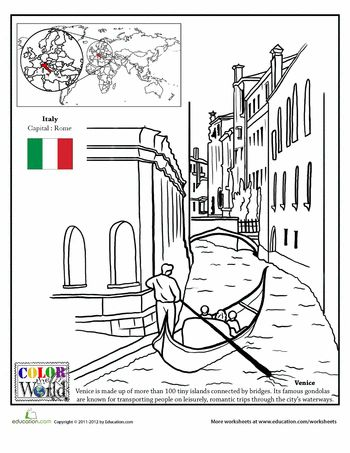 Coloring, Piccolo and Venice on Pinterest