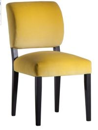 Chairs, Yellow and Upholstered dining chairs on Pinterest