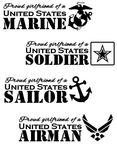 Vinyls, Soldiers and Air force on Pinterest