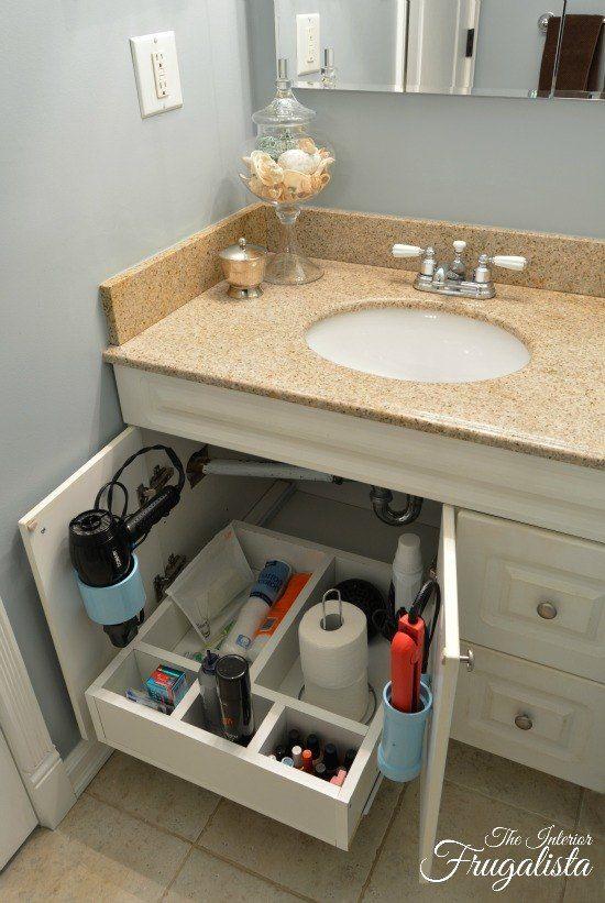 26 Original Bathroom Under Cabinet Storage Ideas