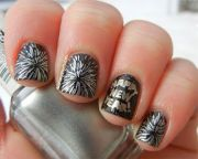 happy year nail art design