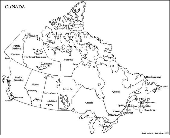 Canada and Maps on Pinterest