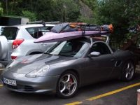 Boxster 986 with Porsche designed roof rack | great ...