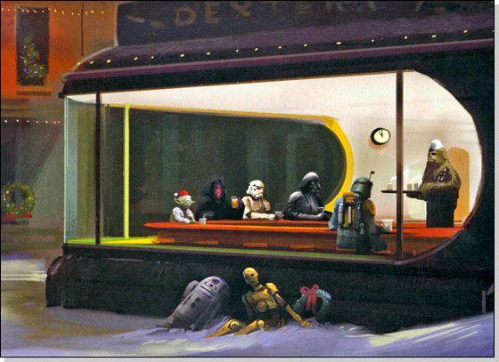 Star wars through the holidays